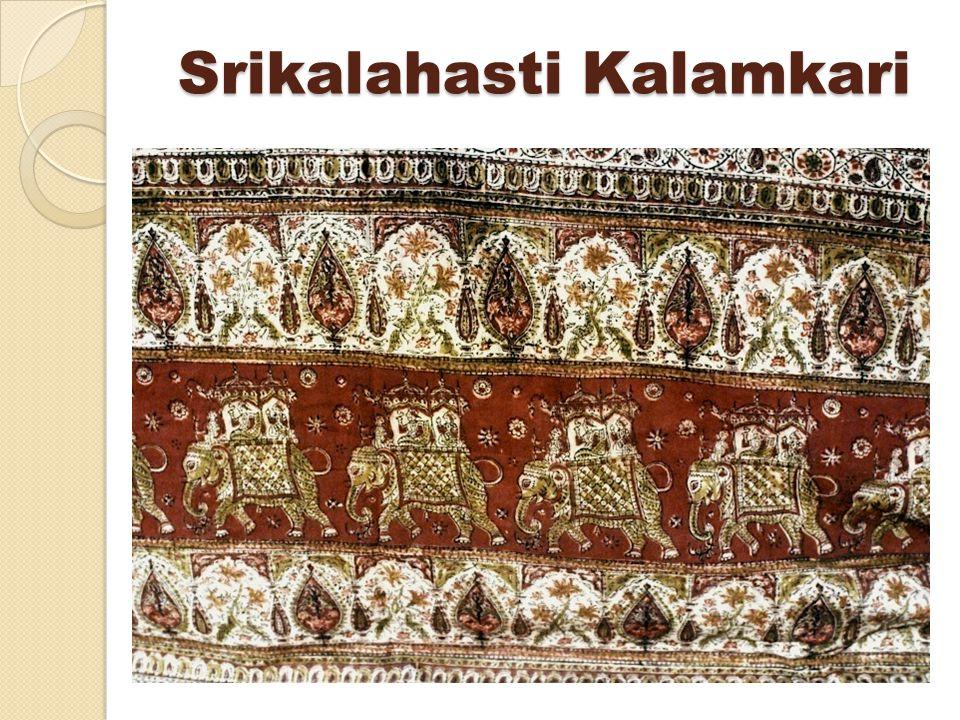 Srikalahasti Kalamkari