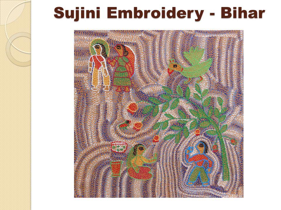 Sujini Embroidery - Bihar