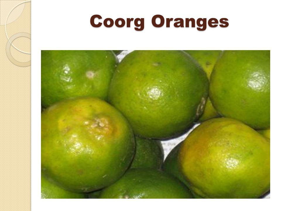 Coorg Oranges