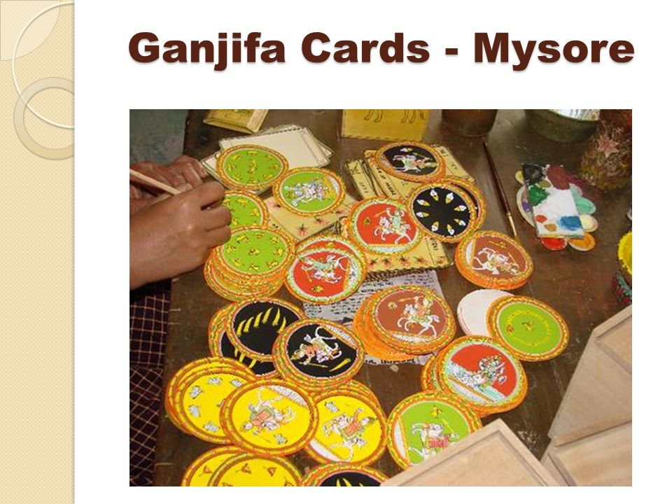 Ganjifa Cards - Mysore