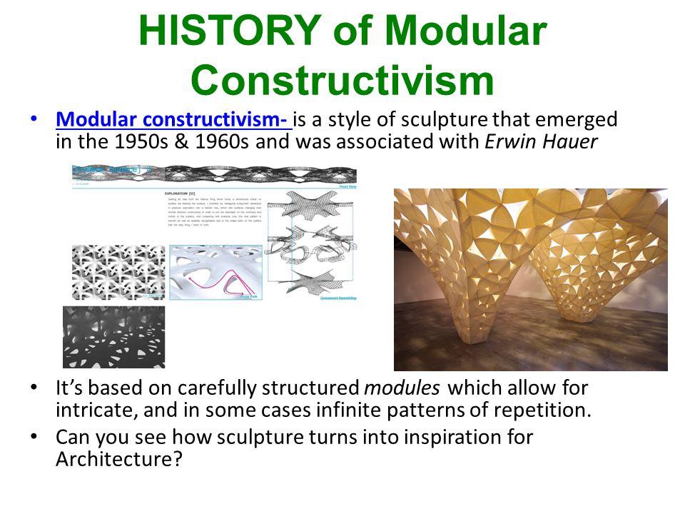 More Modular Sculpture…