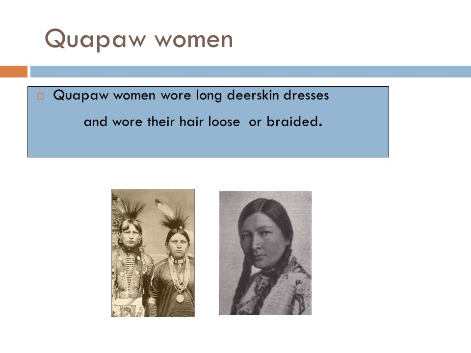 Quapaw men's hairstyles and head coverings.