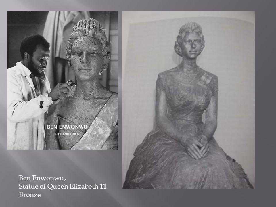 Ben Enwonwu, Statue of Queen Elizabeth 11 Bronze