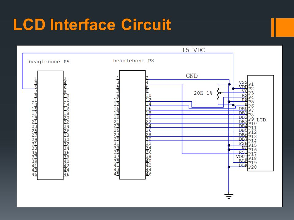 LCD Interface Circuit