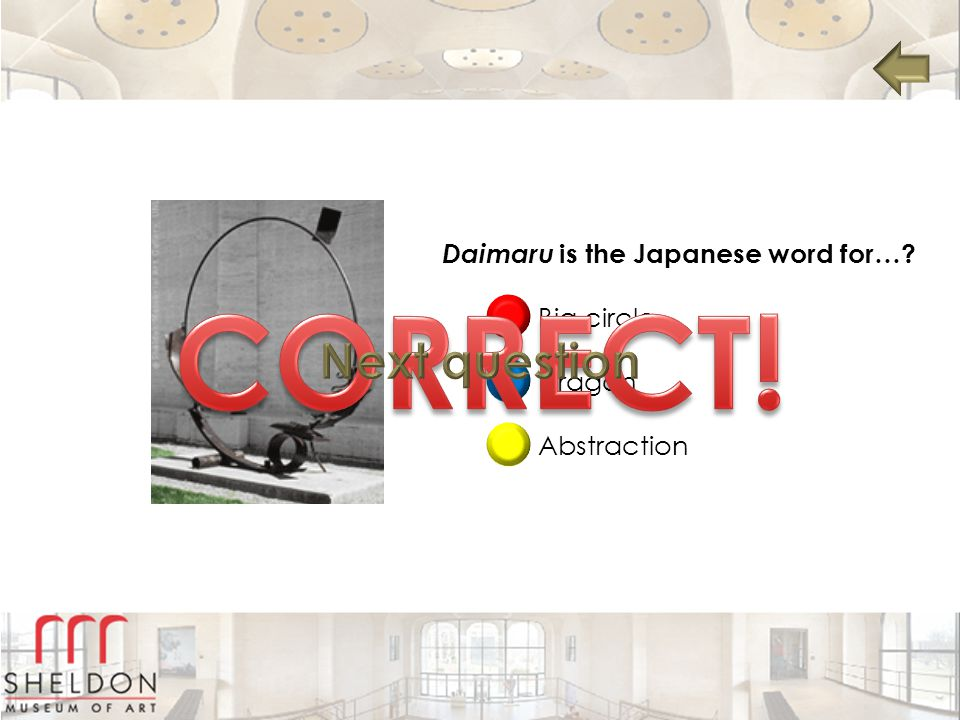 Daimaru is the Japanese word for…? Big circle Dragon Abstraction