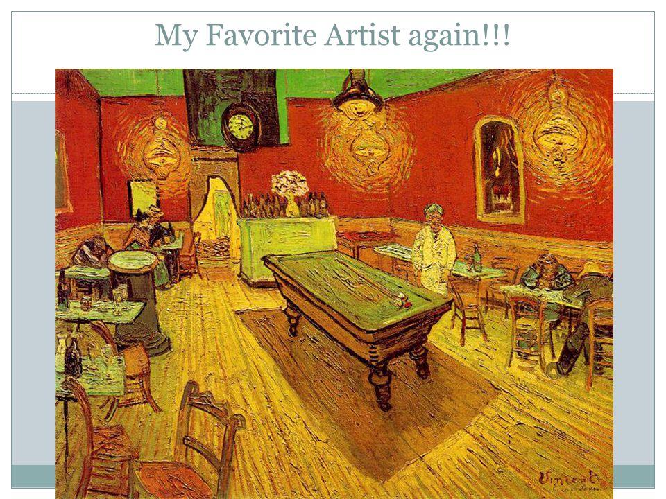 My Favorite Artist again!!!