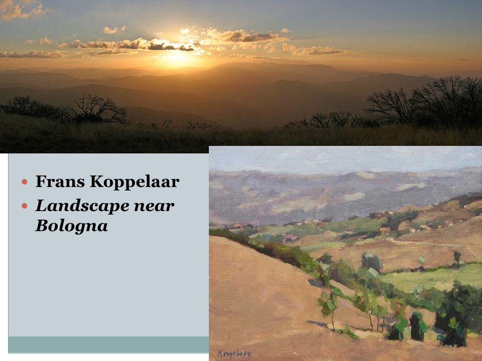 Frans Koppelaar Landscape near Bologna
