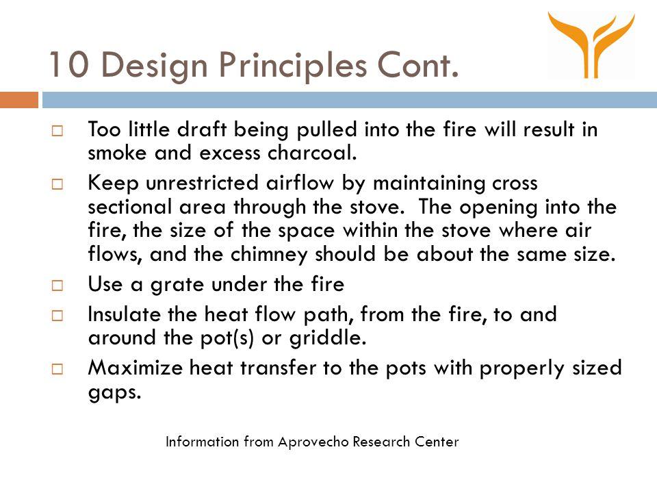 10 Design Principles Cont.