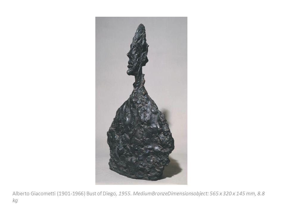 Alberto Giacometti (1901 ‑ 1966) Bust of Diego, 1955. MediumBronzeDimensionsobject: 565 x 320 x 145 mm, 8.8 kg