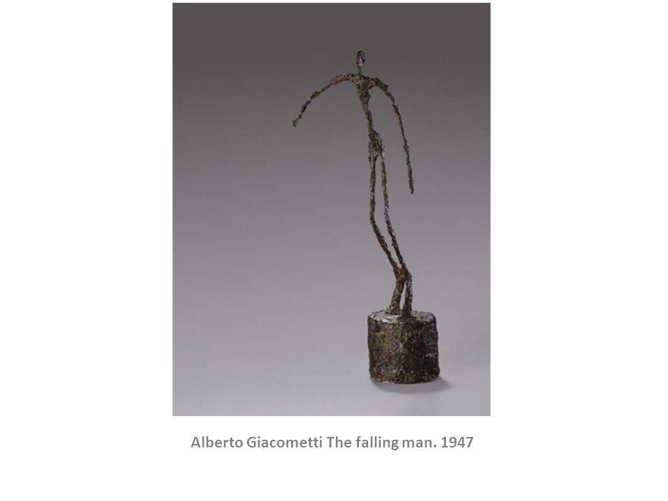 Alberto Giacometti The falling man. 1947