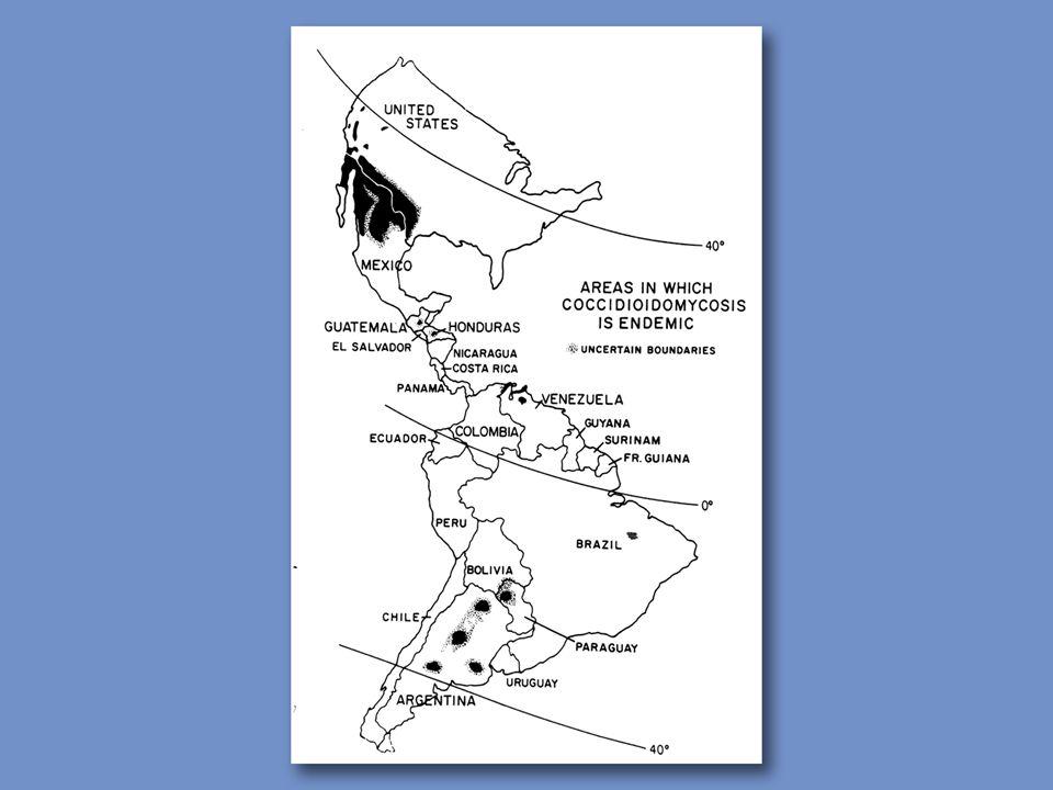 Coccidioidomycosis - California Endemic Areas Coalinga Soledad Paso Robles Avenal Calif.