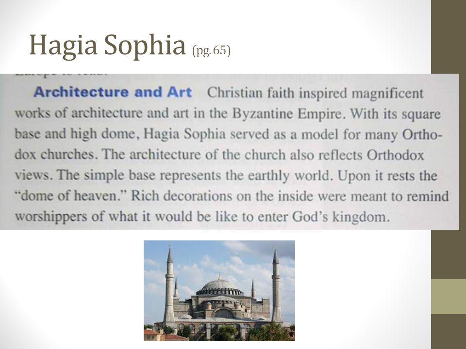 Hagia Sophia (pg. 65)
