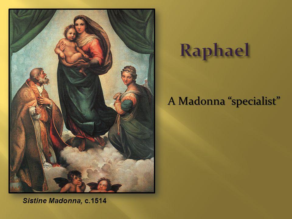 A Madonna specialist Sistine Madonna, c.1514