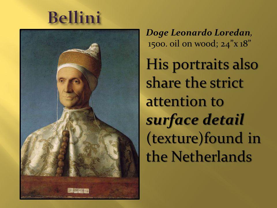 Doge Leonardo Loredan, 1500.