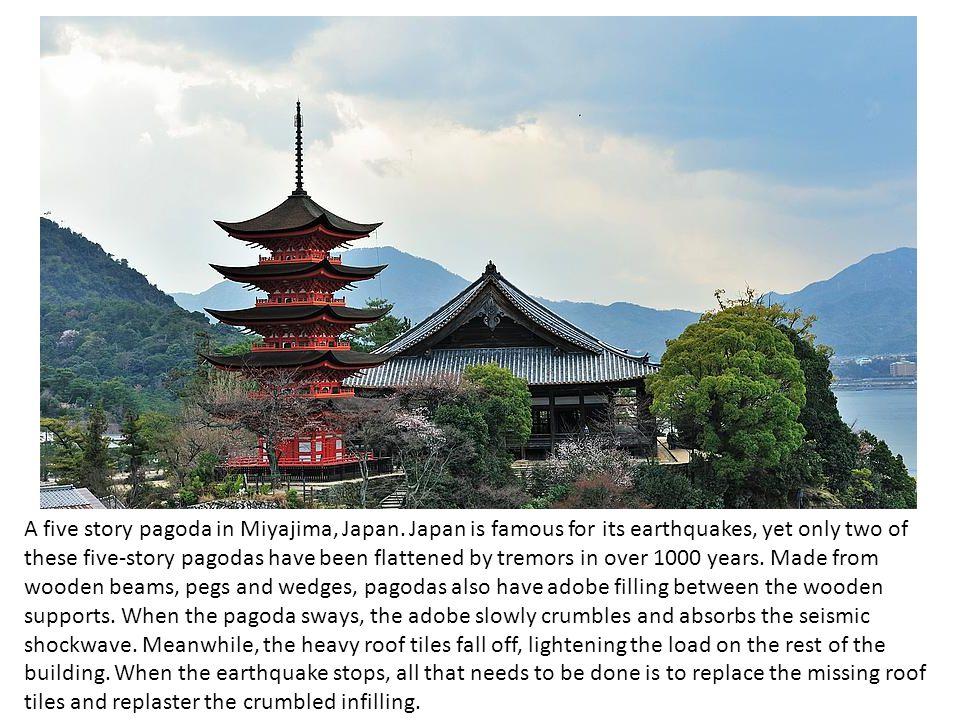 A five story pagoda in Miyajima, Japan.