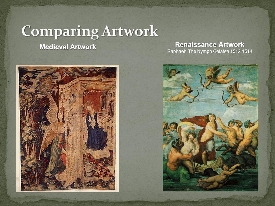 Clockwise: Plato (Leonardo), Aristotle, Raphael, Michelangelo