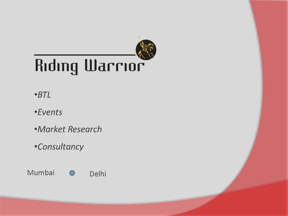 BTL Events Market Research Consultancy Mumbai Delhi