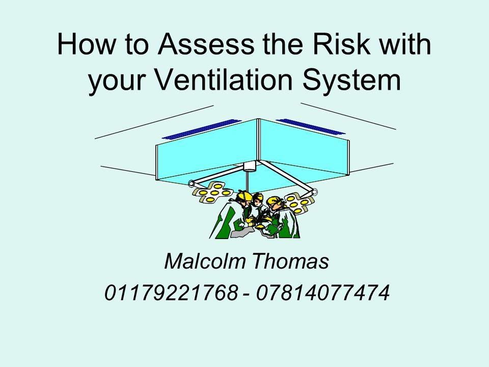 NP s 5/1412 Typical initial Audit report Element 2) - Authorised Person (Ventilation)Comment NameMr.