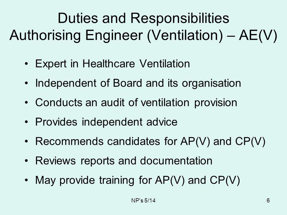 NP s 5/14 17 UCV Theatre ventilation