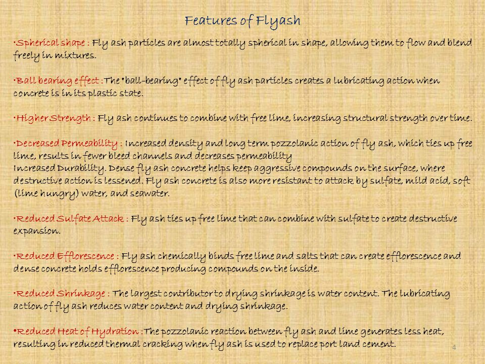 What is Flyash.