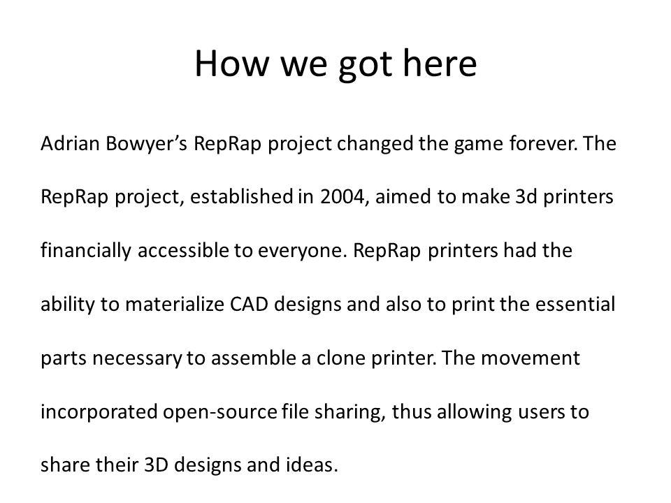 Prototype Delta 3D Printer