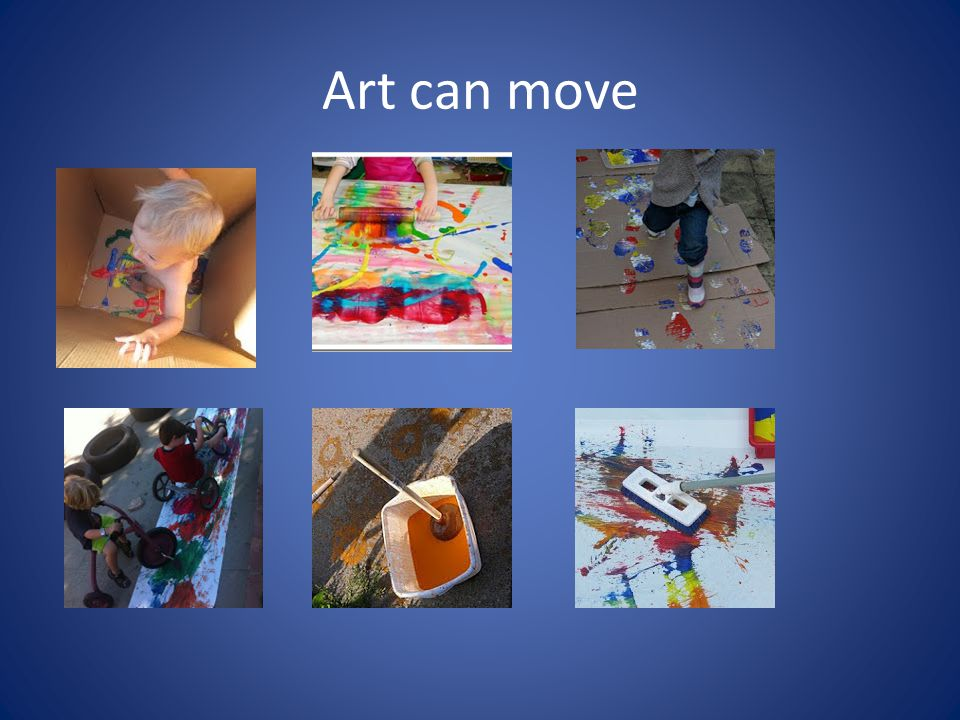 Art can move