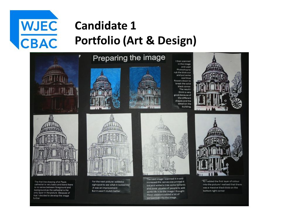 The majority of work for this Candidates' Portfolio is contained within one compact and succinct book, with a painting and shoe design as outcomes.