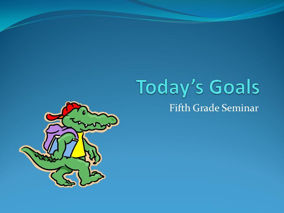 Fifth Grade Seminar