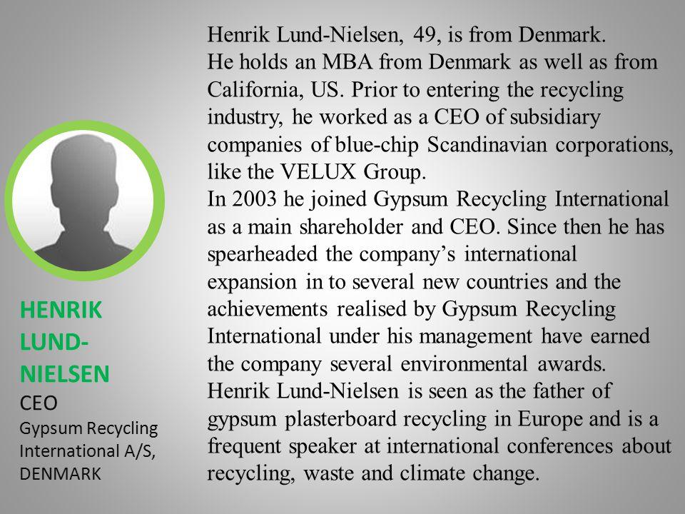 Agenda 1.C&D and gypsum waste in landfills around the globe 2.