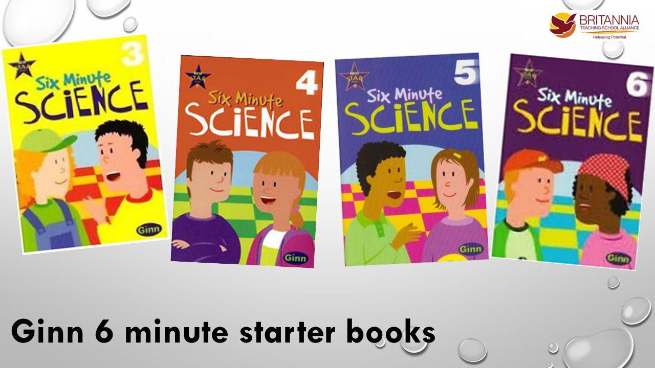 Ginn 6 minute starter books