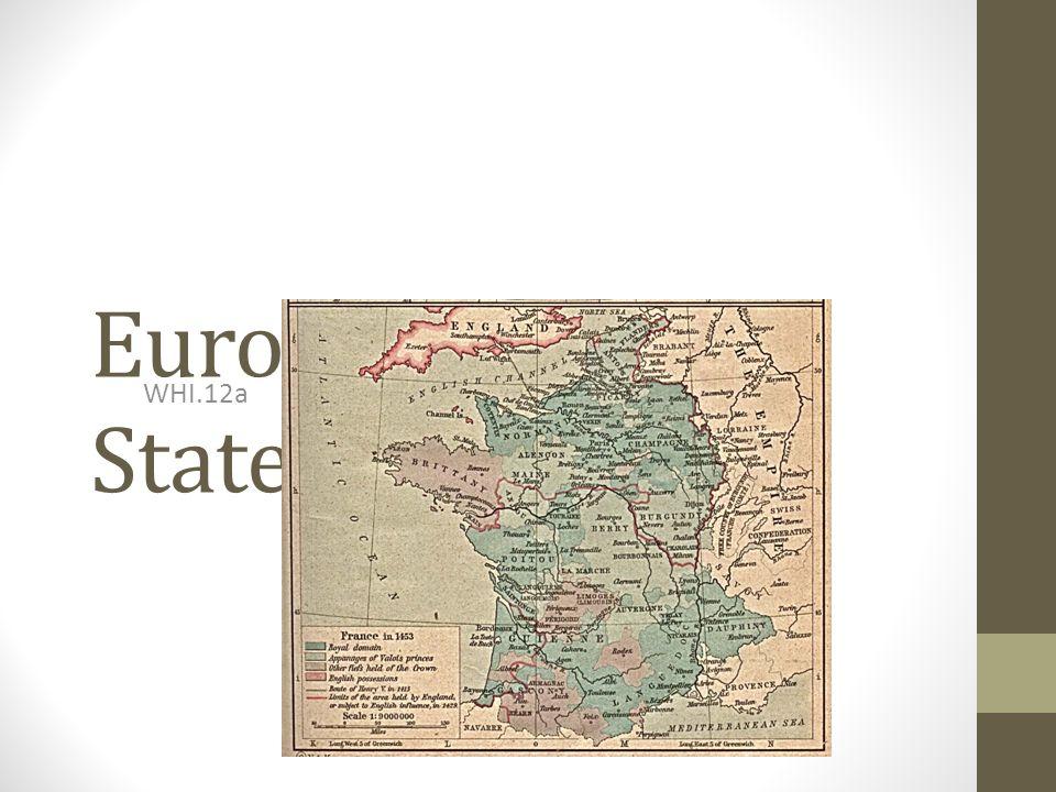 European Nation States - France WHI.12a