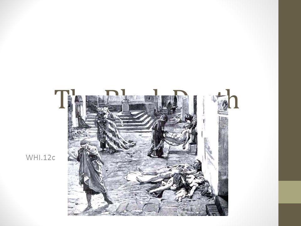 The Black Death WHI.12c