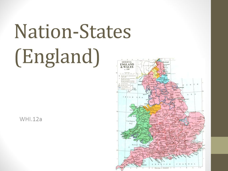 Nation-States (England) WHI.12a