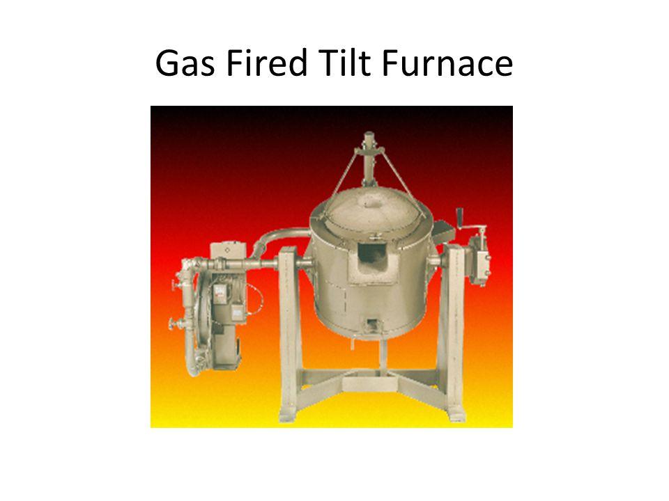 Gas Fired Tilt Furnace