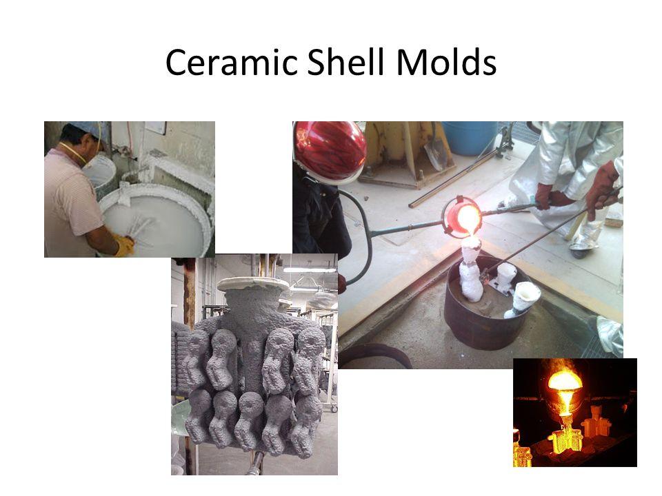 Ceramic Shell Molds