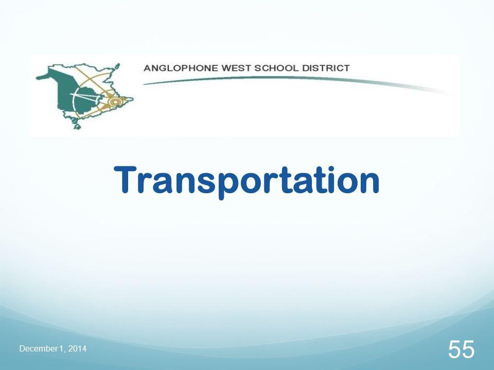 Transportation December 1, 2014 55