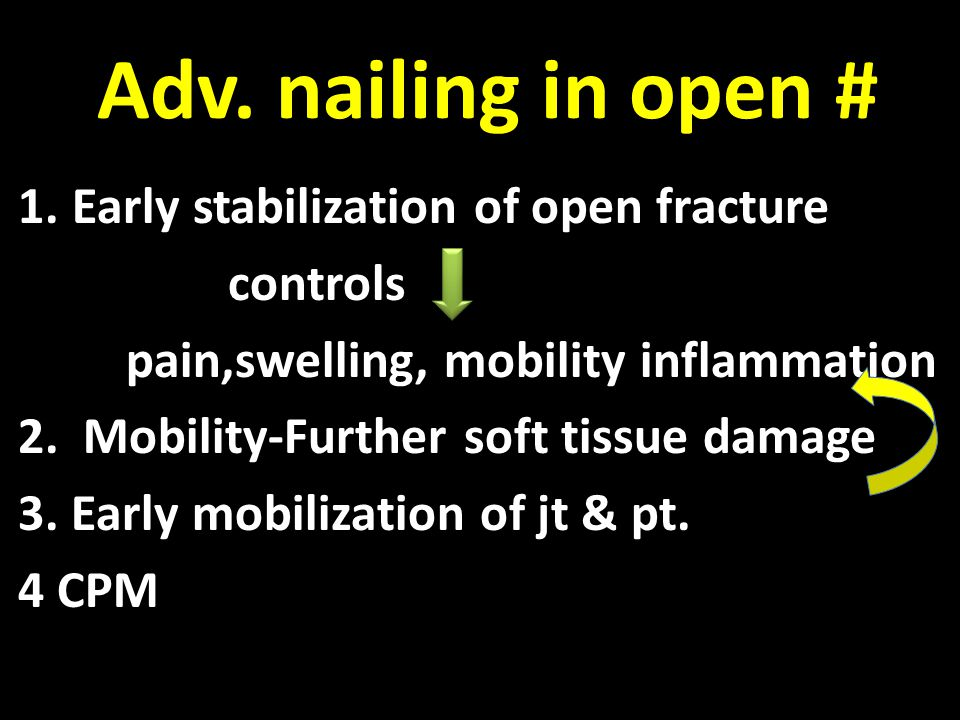 Literature 143 cases of open tibial shaft fractures.Primary IMN has Favourable results.