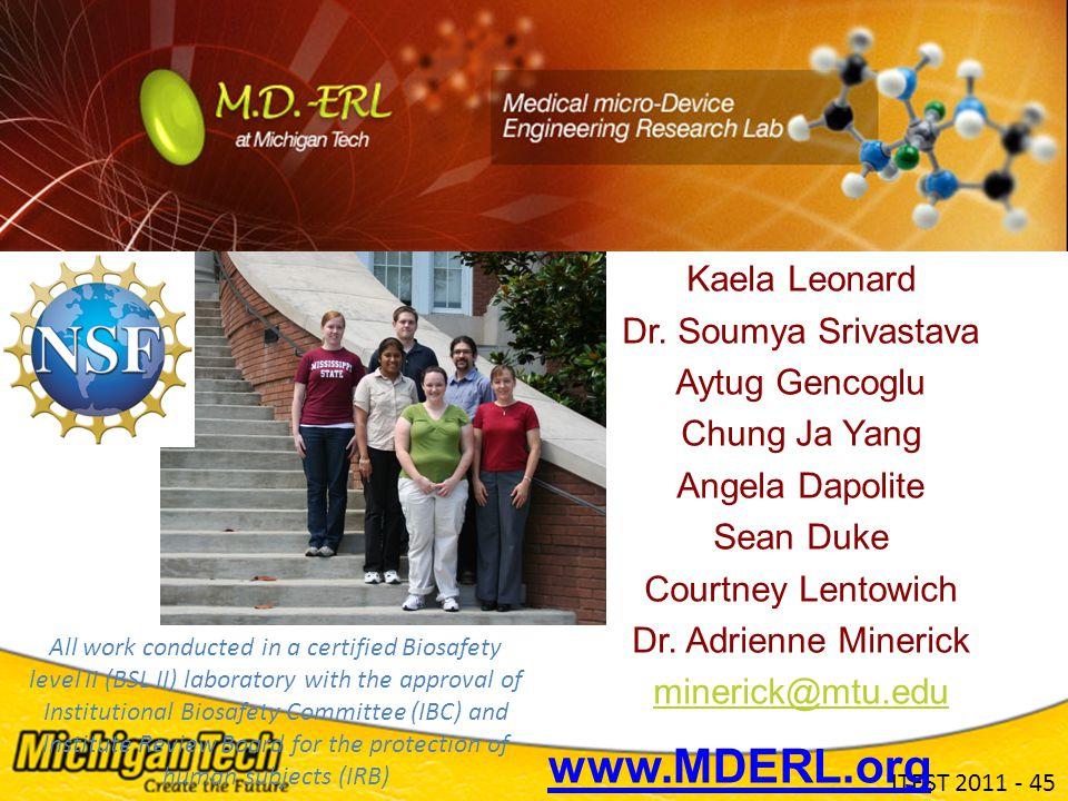 ITEST 2011 - 45 Kaela Leonard Dr.