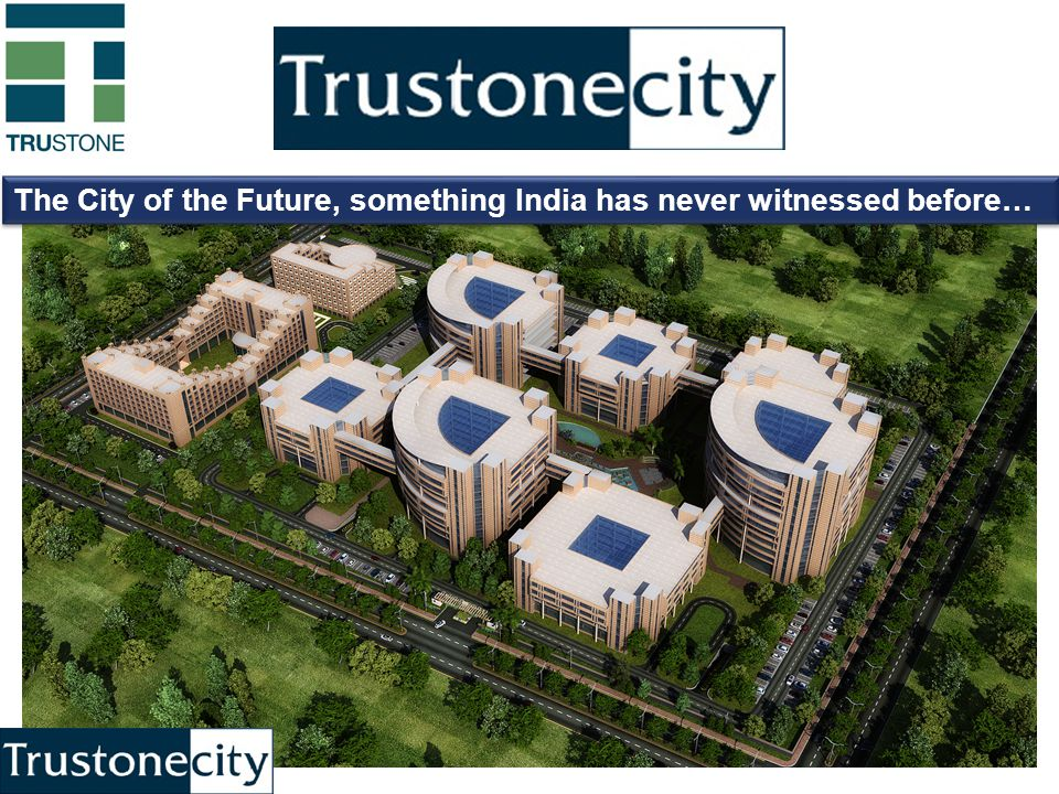 The City of the Future, something India has never witnessed before…