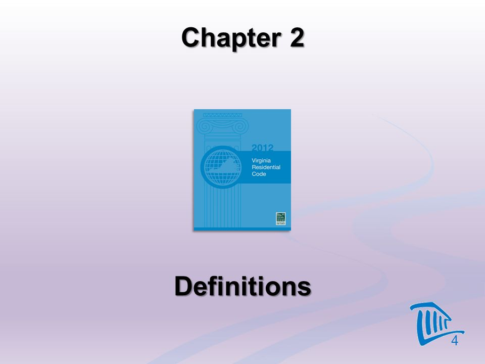 Chapter 2 Definitions 4
