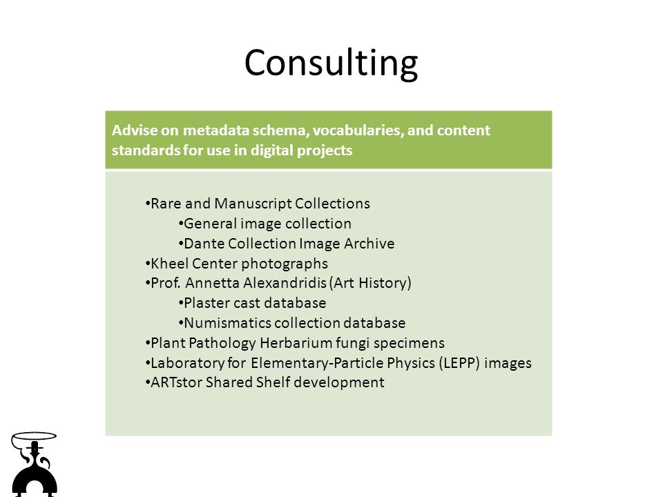 Consulting: Plaster Cast Database