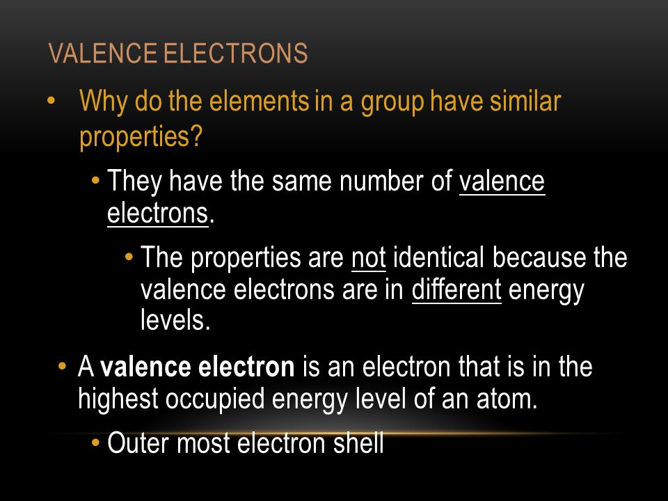 GROUP 7A – HALOGENS 7 Valence electrons All Nonmetals At room temperature: chlorine is a gas, bromine is a liquid iodine is a solid.