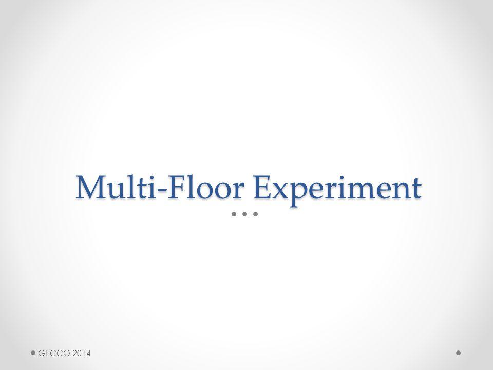 Multi-Floor Experiment GECCO 2014
