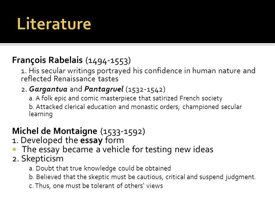 François Rabelais (1494-1553) 1.