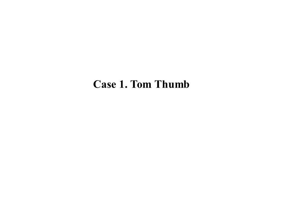 Case 1. Tom Thumb