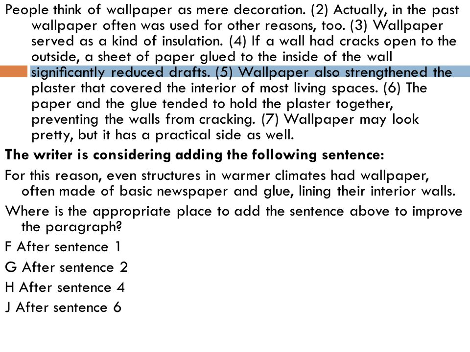 People think of wallpaper as mere decoration.