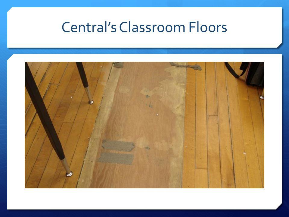 Central's Classroom Floors