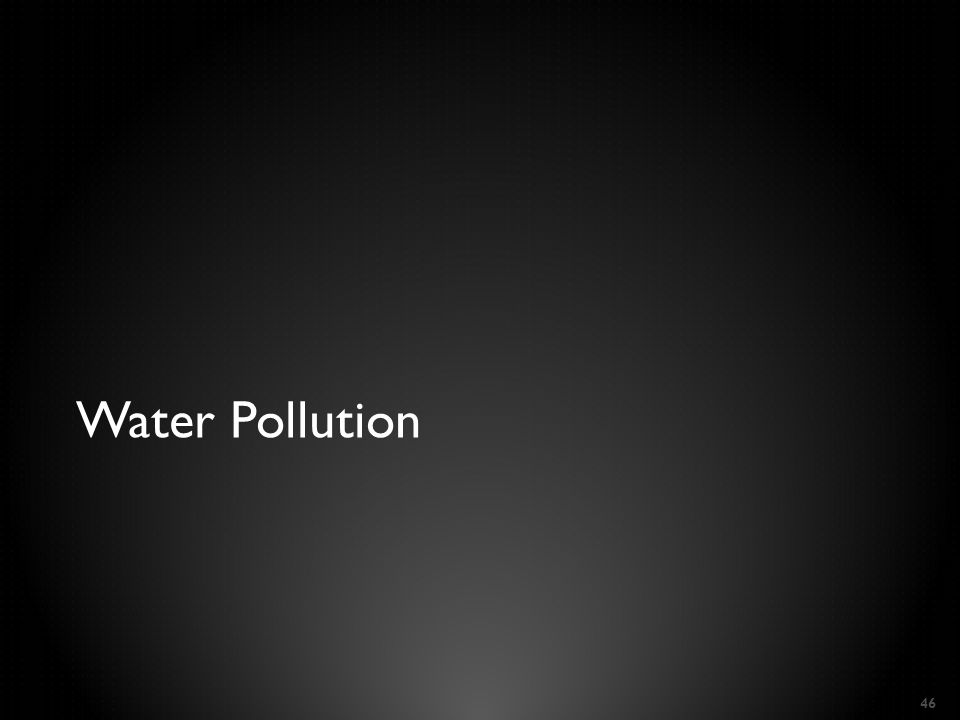 Water Pollution 46