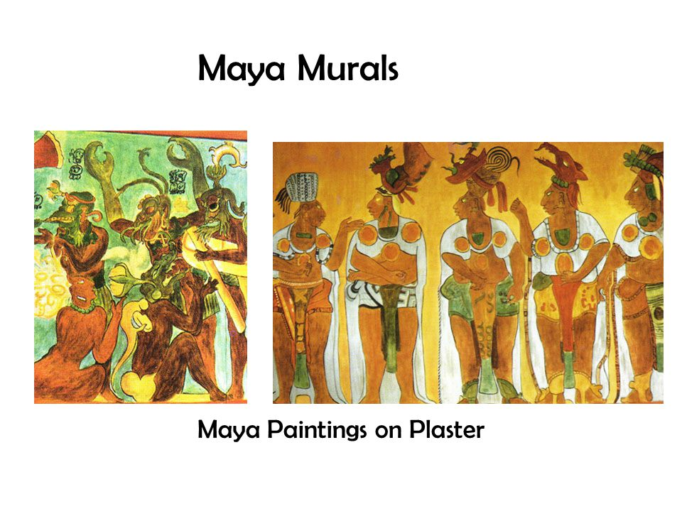 Most Maya pottery was decorated with: Images of humans Animals Mythological creatures.