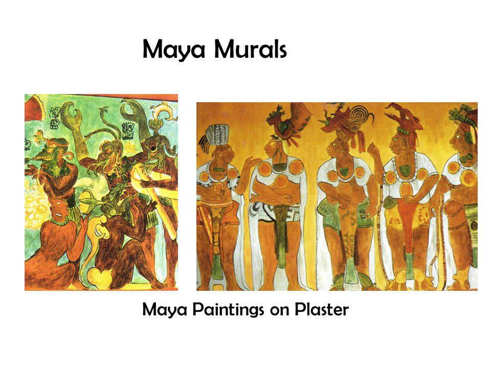 Maya Murals Maya Paintings on Plaster